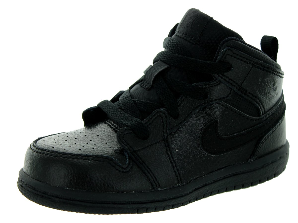 on sale 52aa9 d3616 nike jordan bambins jordanie 1 mi - - - bt noir noir Noir chaussure de  basket. Quelles stratégies pour Nike Air ...