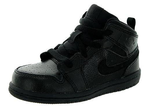 Amazon.com | Nike Jordan Toddlers Jordan 1 Mid Bt Basketball Shoe | Shoes
