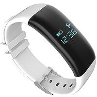 igrosso Fitness Tracker con Heart Rate Monitor Paso Corta distancia a pie contador de calorías Bluetooth Pulsera Inteligente Actividad Muñequera para el IOS Android devieces Smartphone Samsung iPhone