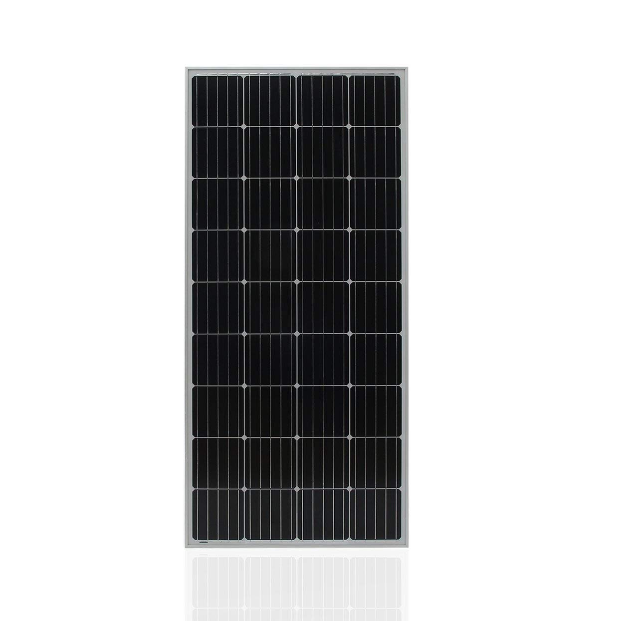 ToGames Universal Moncrystalline Solar Panel Module 170W Boat Solar Battery Charger Portable Car Solar Charging Device