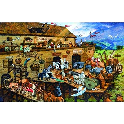 SUNSOUT INC It's a Zoo 1000 pc Jigsaw Puzzle: Toys & Games