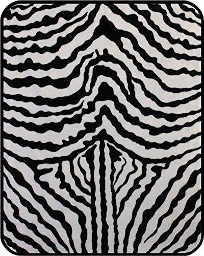 zebra bedspread full - 2