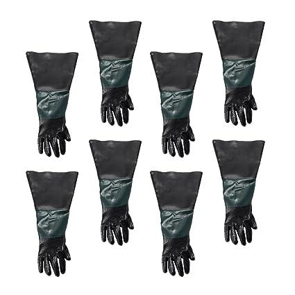 60cm Left Work Gloves for Blasting  Sand Blast Cabinet Industrial