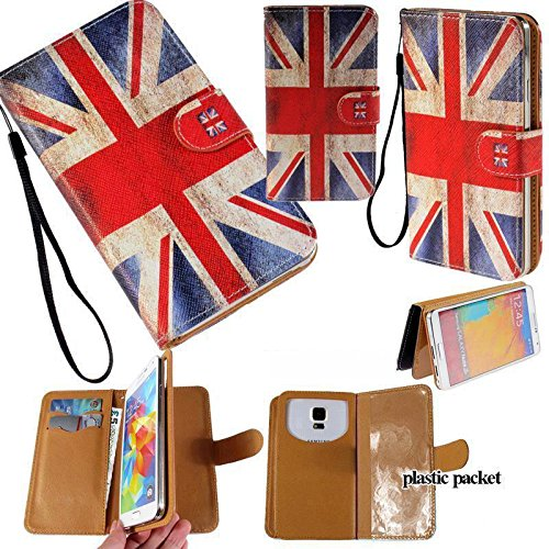 Universal PU Leather Purse/Clutch/Pouch/Wallet Fits Apple Samsung LG Motorola etc. Women's Wristlet Strap Case United Kingdom of Great Britain & Ireland Union Jack Flag-Medium. Fits the Models below: (Cover Case Faceplate Dash Htc)