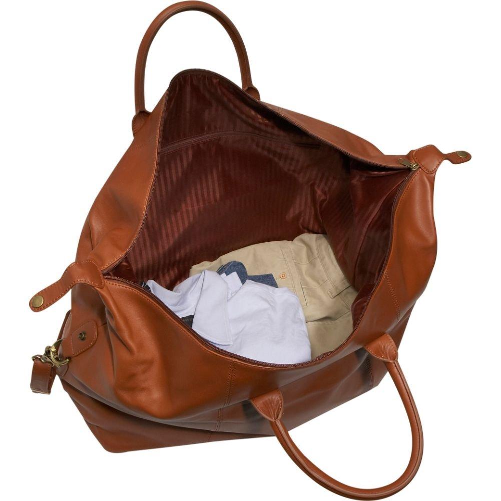 Royce Leather Luxury Duffel Bag Luggage Handmade in Leather, Tan One Size