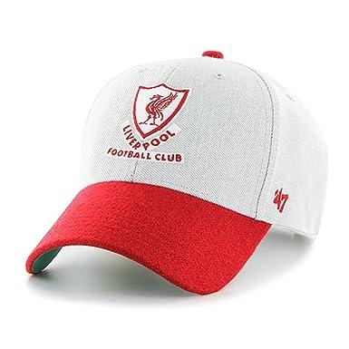 1ce38abb2993f 47 Brand EPL Liverpool FC Munson MVP Cap - Grey: Amazon.co.uk: Clothing