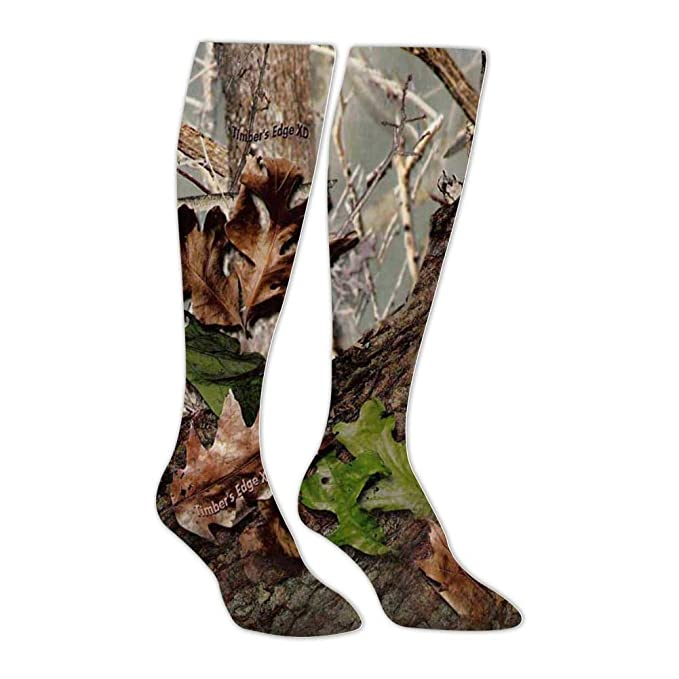 a15ea29f7ce Amazon.com  Yu2Ye Stylish Timber s Edge XD Camo Knee High Socks Long ...