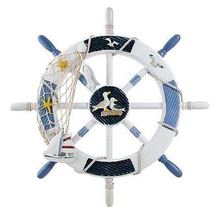 WINOMO Décor náutico volante de barco náutico de la decoración de ...
