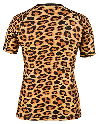 Rule Out Short Sleeve Rash Guard Top. Femmes. Gym. Taining. Sportswear. Running. Cycling. Wild. Panther. Motivation. Women Colection. Compression T-shirt. MMA Fightwear