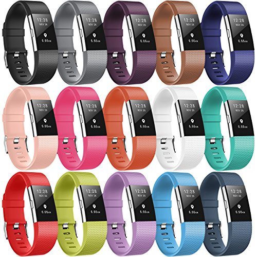 For Fitbit Charge 2 Bands, TreasureMax Latest...