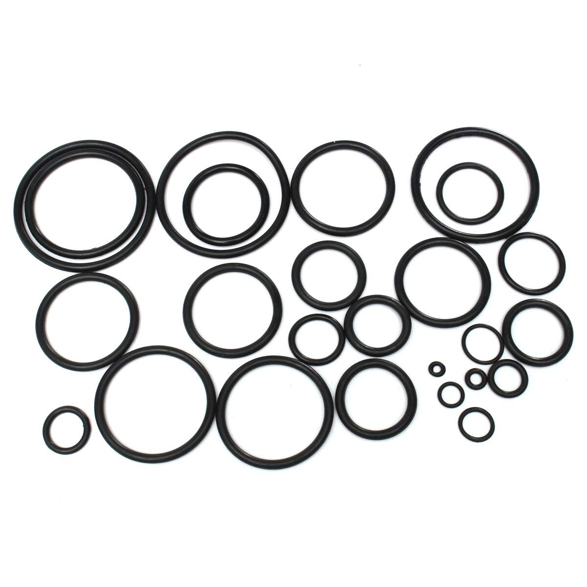 Gimax 419Pcs O Ring Rubber Seal Assortment Set Kit Garage Plumbing with Case for General Plumbers Mechanics Workshop Assorted kit by GIMAX (Image #6)