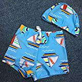 AkiWoo 6 Pcs Boys' Swimwear Sets Swim Trunks,Swim