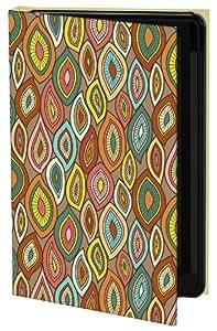 Keka Mary Tanana Gypsy Leaves - Funda de diseño (rígida, tipo libro) para Samsung Galaxy S3, diseño de hojas
