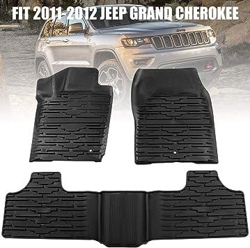 Amazon Com Fieryred Floor Mats For 2011 2012 Jeep Grand Cherokee