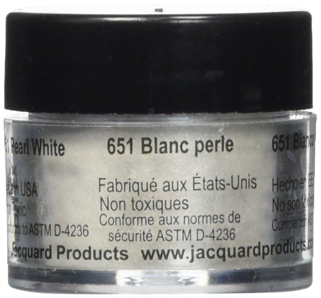 Pigmento Jacquard Pearl Ex 3gr. Blanco perla