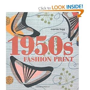 1950s Fashion Print Marnie Fogg