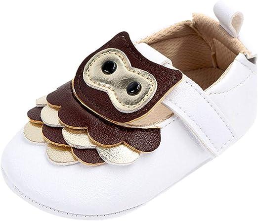 Voberry Toddler Newborn Cartoon Soft Crib Sole Baby Girls Boys Prewalker Shoes