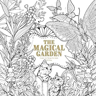 The Magical Garden Creative Art Therapy For Adults Colouring Books Grown