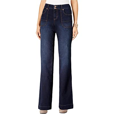 Style & Co. Jewel Wash Flare-Leg Jeans, 16
