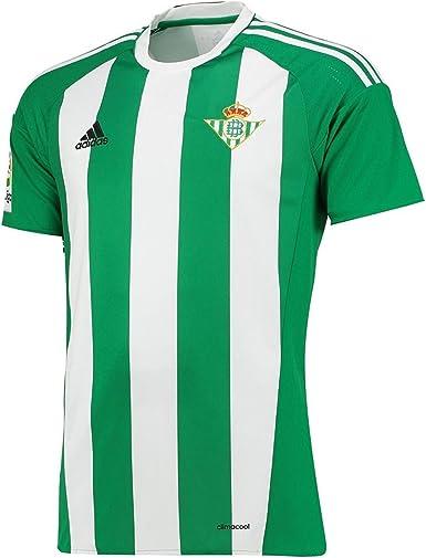 Inapropiado Ridículo Permanentemente  adidas 1ª Equipación Betis FC 2016/2017 - Camiseta oficial para hombre,  Medium: Amazon.es: Ropa y accesorios