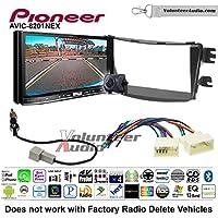 Volunteer Audio Pioneer AVIC-8201NEX Double Din Radio Install Kit with GPS Navigation Apple CarPlay Fits 2012-2013 Hyundai Accent