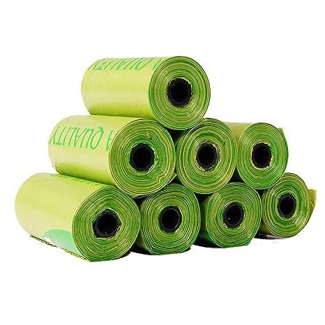 WLDD Bolsas de excremento para perros Biodegradable, Bolsas ...