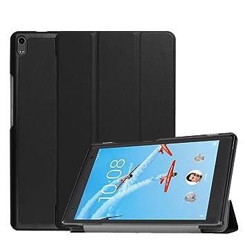 AVIDET Lenovo tab4 8 Plus ケース 超薄型 最軽量スタンド機能付ケース (