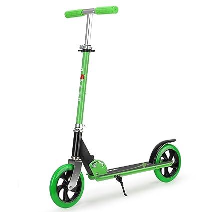GOSFUN Patinete Plegable de 2 Ruedas Scooter Patinete Altura Ajustable Adecuado para Niños más de 5 años y Adultos