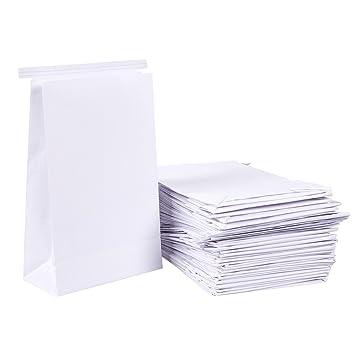 Amazon.com: 50 Bolsas de vomitar – Color Blanco emesis BARF ...