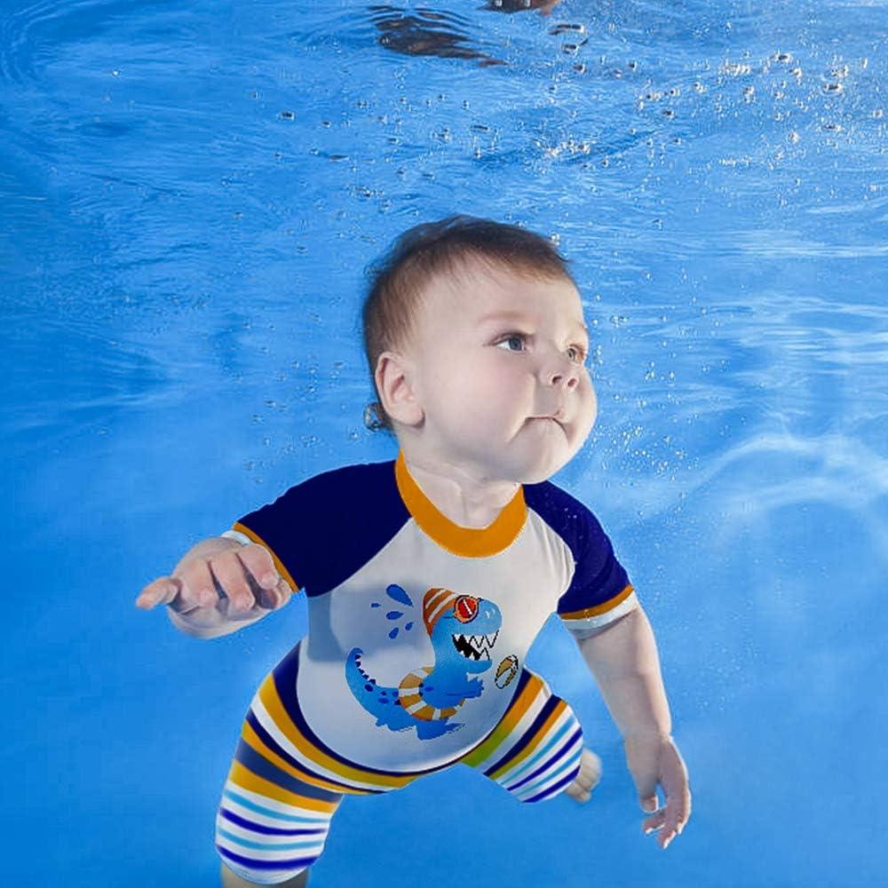 AMZTM Baby//Jungen 2er Uv-Schutz Bade-Set Dinosaurier Badeshorts Badebekleidung
