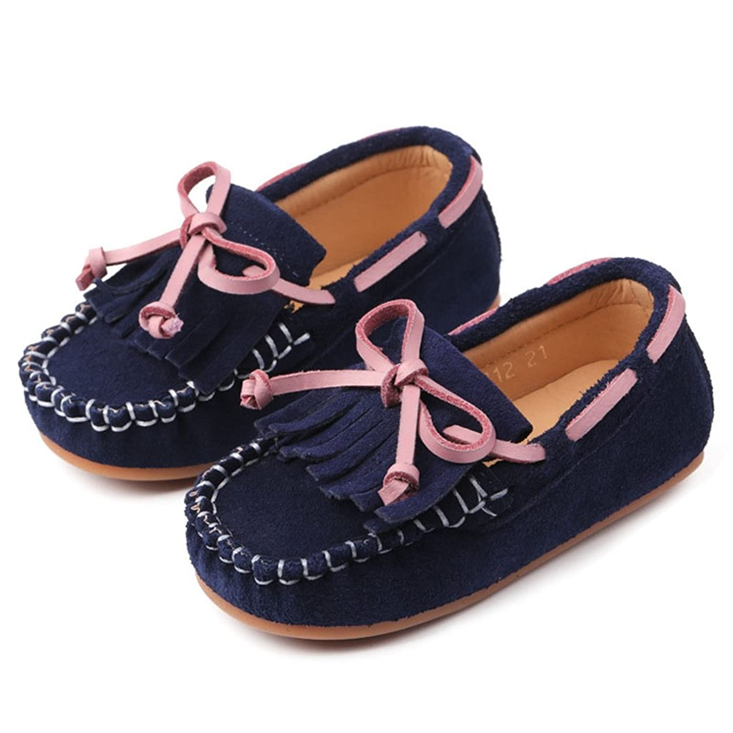 faaf429d6268 GIY Slip-On Flat Oxford Shoes For Toddler Kids Boys Girls Slip-On Casual