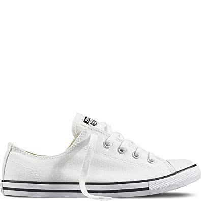 Converse Women's Chuck Taylor Dainty Low Top Sneaker White