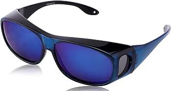 5ae9cf1656 TINHAO Polarized Solar Shield Fitover Sunglasses - Wear Over Prescription  Glasses.Mirrored lenses