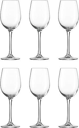 SCHOTT ZWIESEL Serie CLASSICO Weißweinglas 6 Stück Inhalt 312 ml