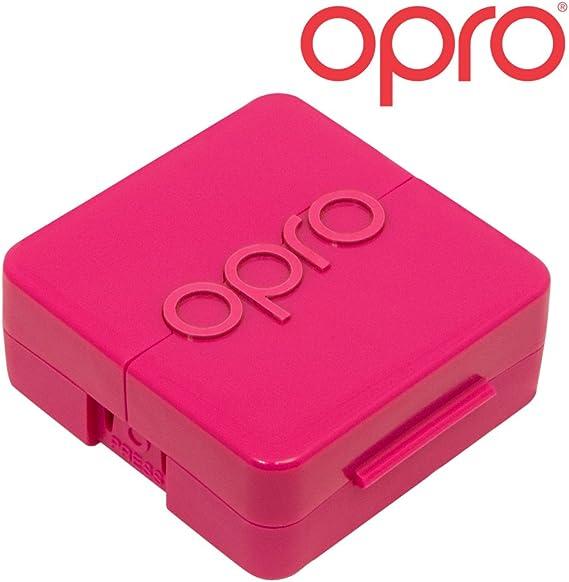 OPRO Biomaster Estuche Antimicrobiano para Protectores bucales, retenedores ortopédicos, Protectores nocturnos.: Amazon.es: Deportes y aire libre