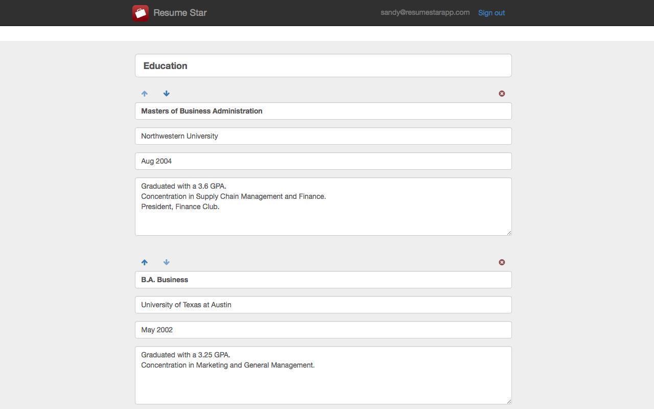 amazon com resume star pro cv maker and resume designer with pdf