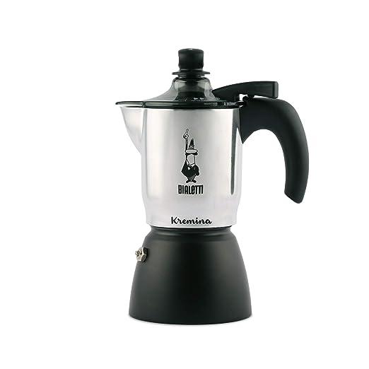 Bialetti - Kremina - Cafetera expreso, para 3 Tazas, Aluminio ...