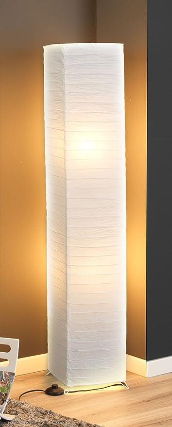 Stehlampe Stehleuchte Standleuchte Papierlampe REIS | 130 cm hoch ...