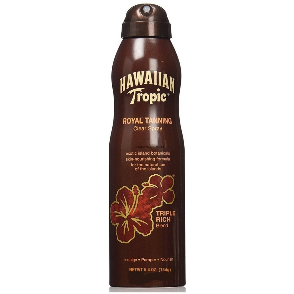 Hawaiian Tropic Royal Tanning Blend Spray 5.4 oz Playtex/Banana Boat Y0874800
