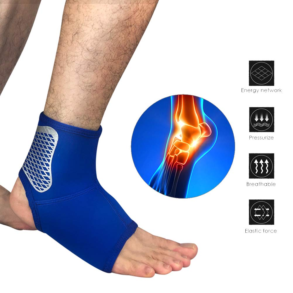 Basketball Sarplle Ankle Brace Ankle Support Foot Bandage Breathable Adjustable Ankle Support for Running Soccer