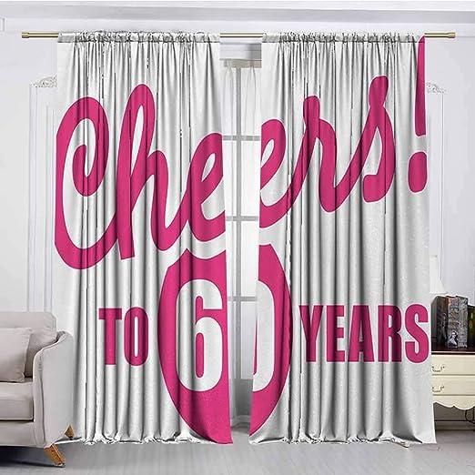 XXANS Cortina para Puerta, 58º cumpleaños, Ideal para ...