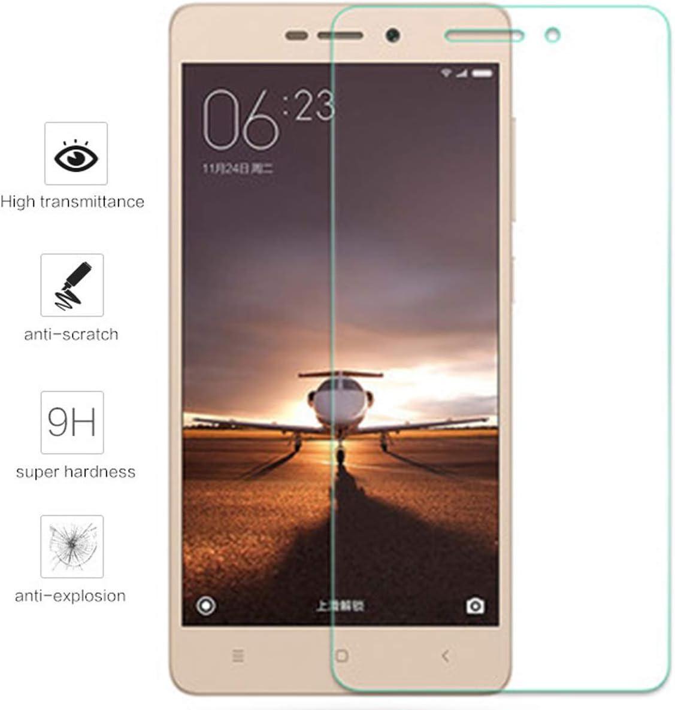 Tumundosmartphone Protector Pantalla Cristal Templado para XIAOMI REDMI 3 / 3S / 3X / 3 Pro Vidrio