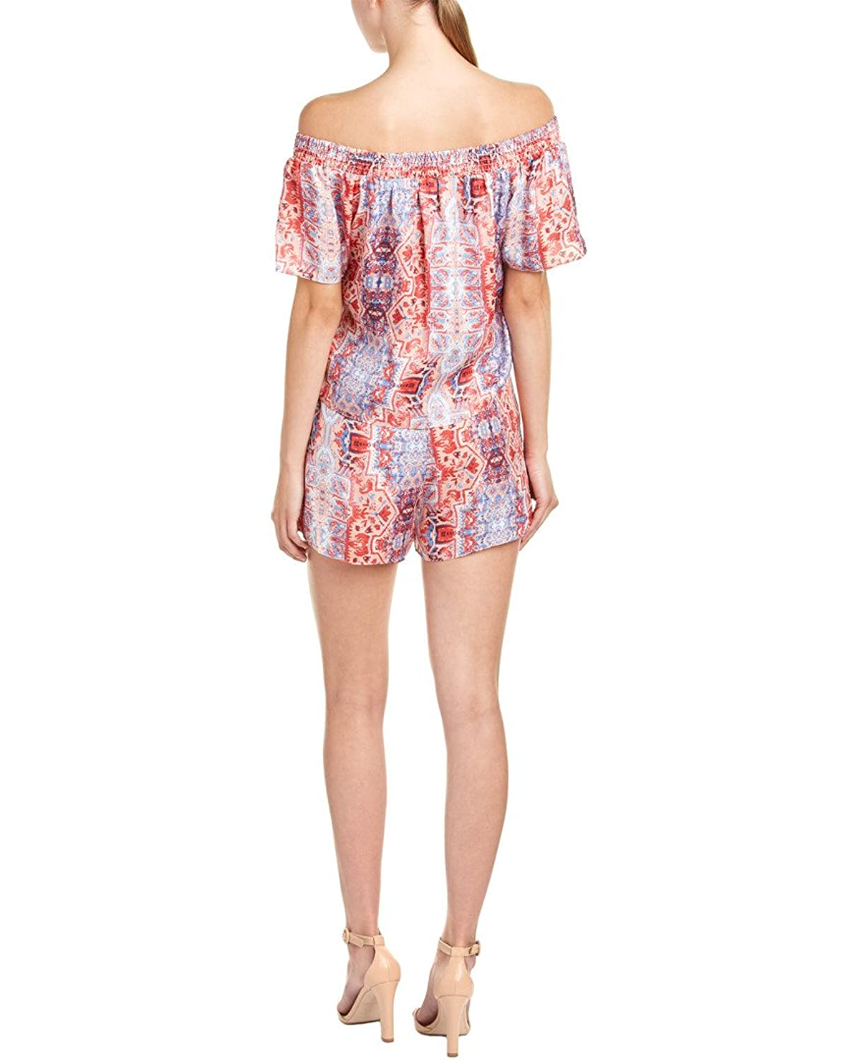 Parker Kaling Off-The-Shoulder Romper