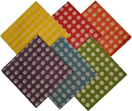 300 Sheets Acid-Free Gift Paper Bulk CleverDelights Red Polka Dot Premium Tissue Paper 20 x 30