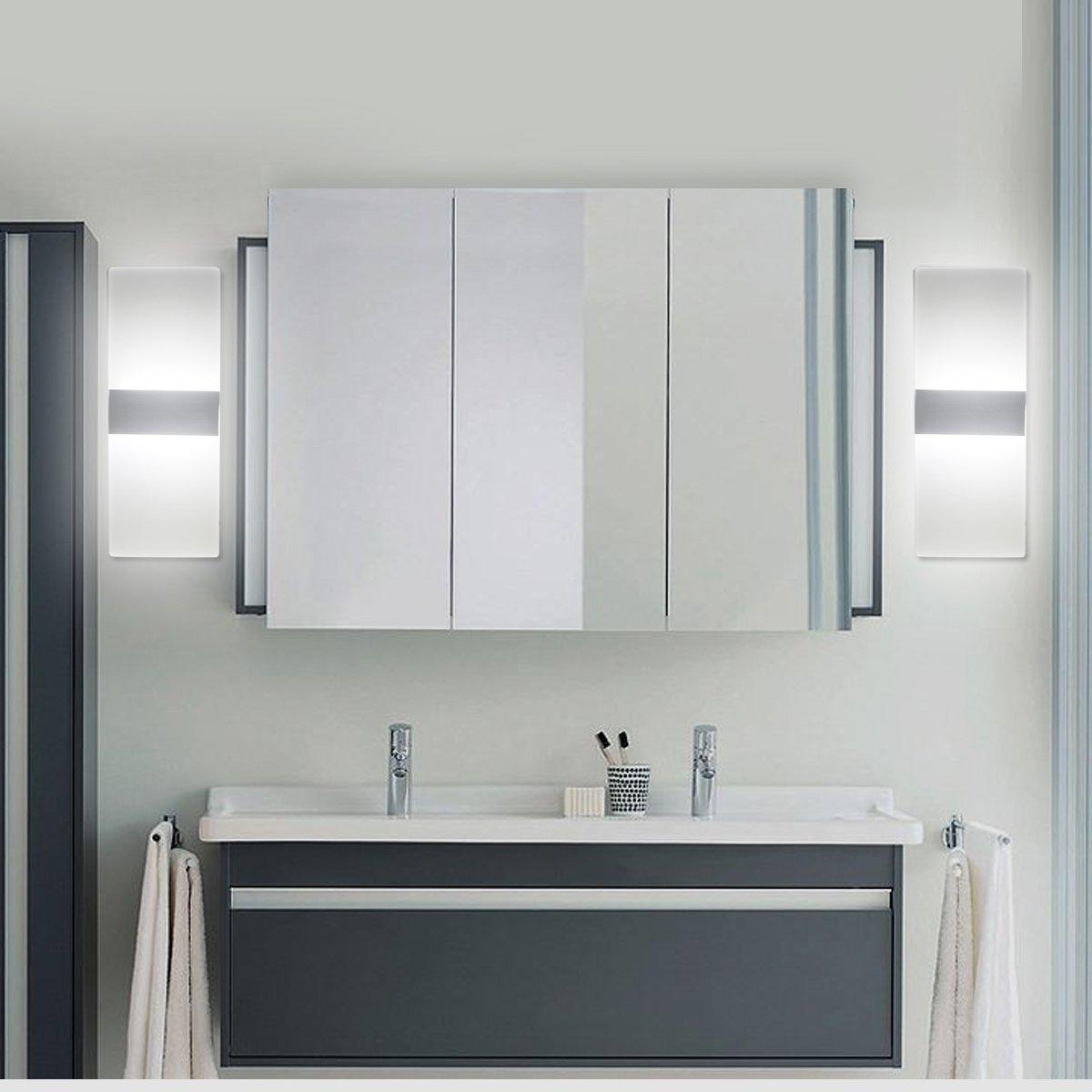 6w moderne aluminium led applique murale interieur clairage mural lumi res pour cuisine. Black Bedroom Furniture Sets. Home Design Ideas