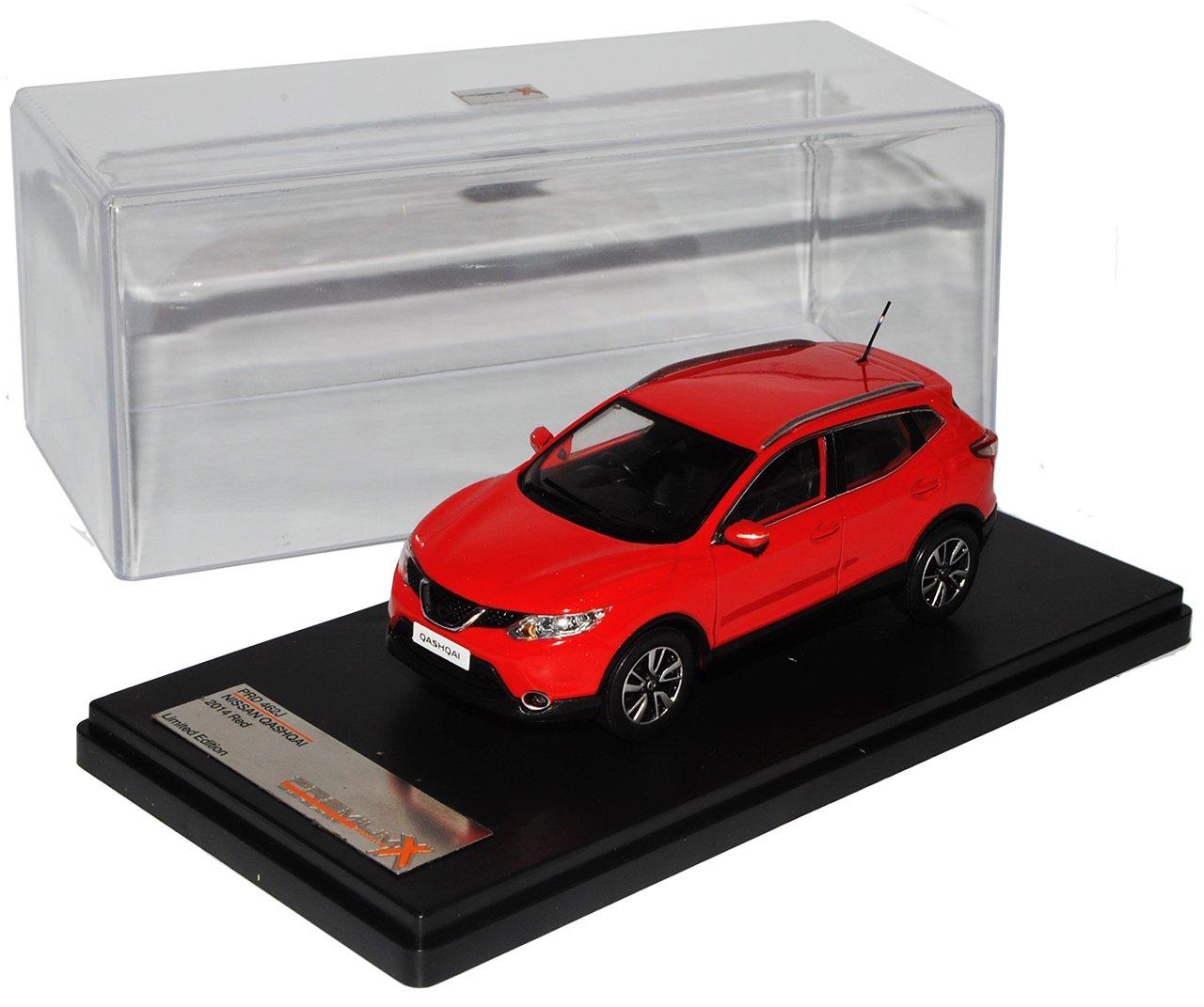 PremiumX Nissan Qashqai J11 SUV Generation Rot 2. Generation SUV Ab 2013 1/43 Modell Auto mit individiuellem Wunschkennzeichen 327cb3