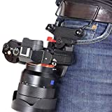 B-GRIP UNO Advanced Ultra-Comfort Camera Waist Belt Backpack Holster W/ARCA Swiss Quick Release Plate for DSLR, Mirrorless and Compact Sized Cameras