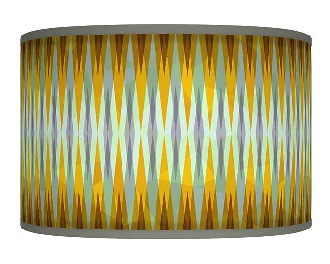 Lámpara de techo o suelo de 30 cm, color amarillo mostaza ...
