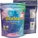 Barlee - Coffee Alternative Beverage Blend (Instant Coffee Substitute), chicory root with blueberry, Pack of 2 (14.10 oz…