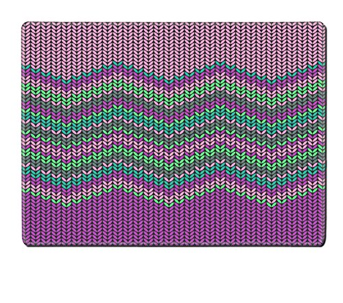 Liili Placemat Natural Rubber Material vector knitted background
